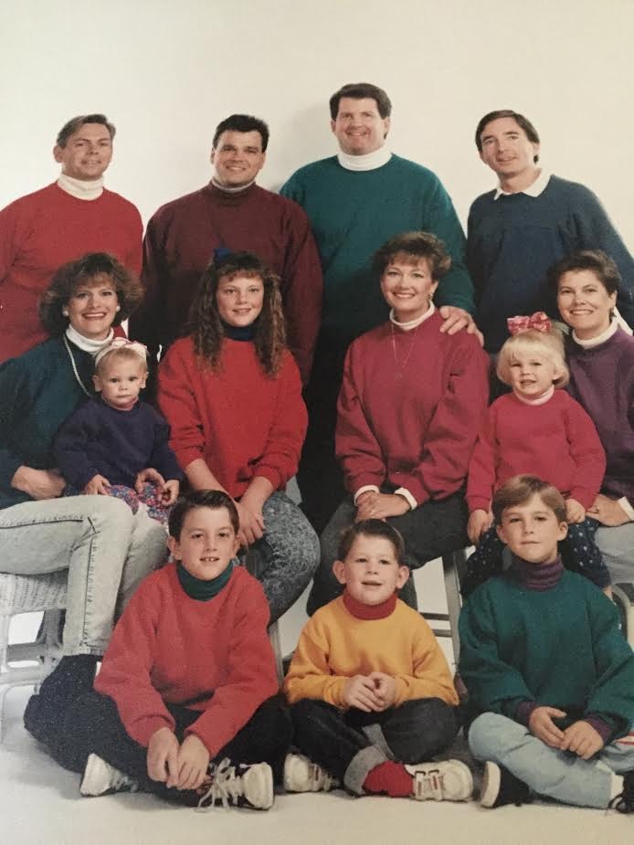 Wink's Full Family Circa 1994