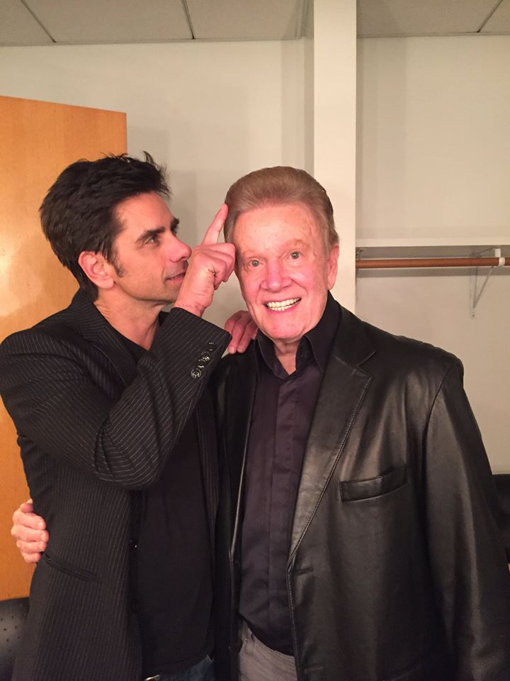 Wink Martindale with John Stamos