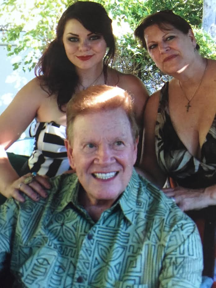 Wink Martindale with Daughter Laura Cuff and Granddaugther Erin Cuff