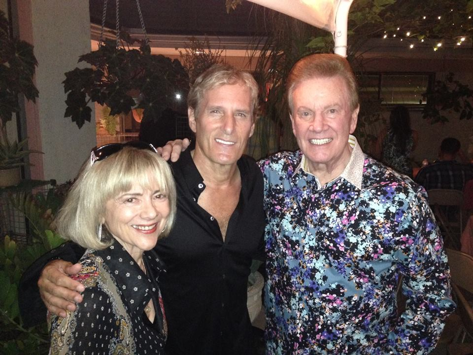 Wink and Sandy Martindale with Michael Bolton