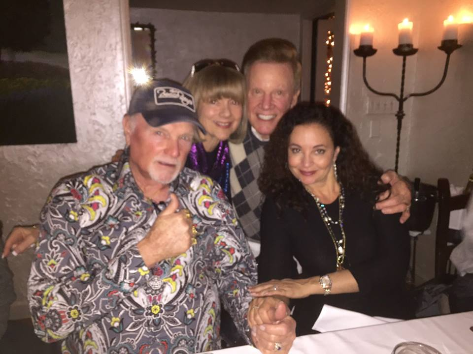 Wink and Sandy Martindale with Mike and Jackie