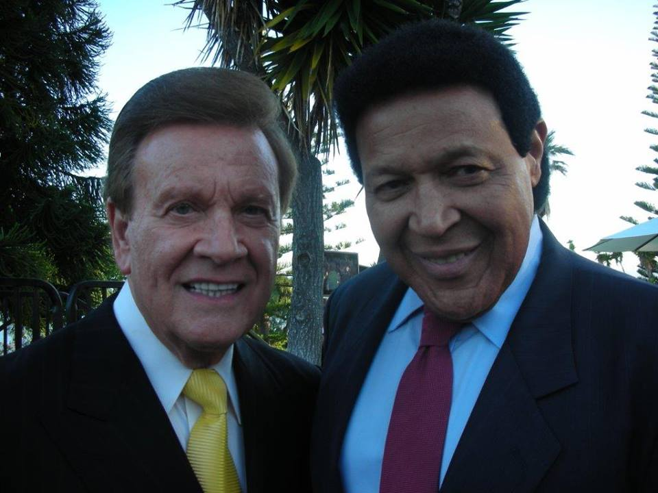 Wink Martindale and Chubby Checker