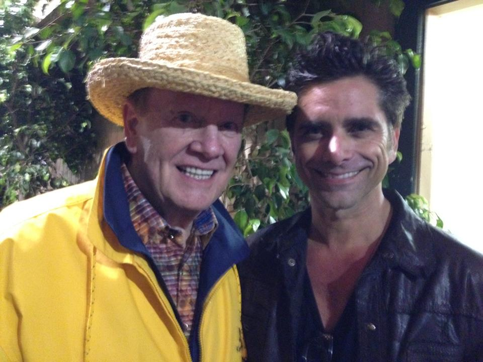 Wink and John Stamos