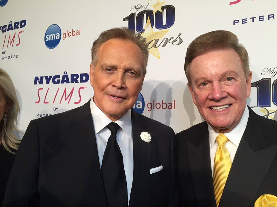 Wink Martindale and Lee Majors