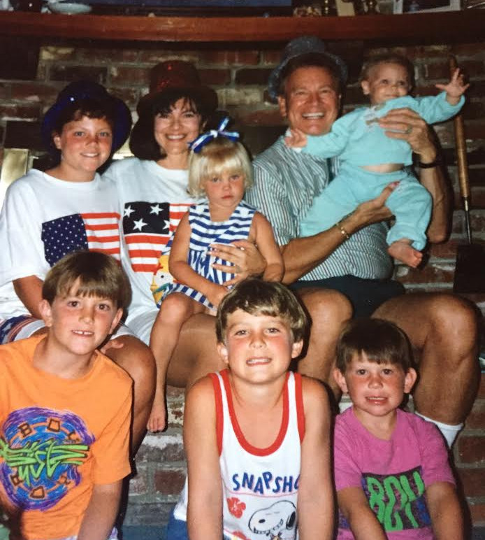 Wink and Sandy Martindale with Grandkids, Circa Summer 1992