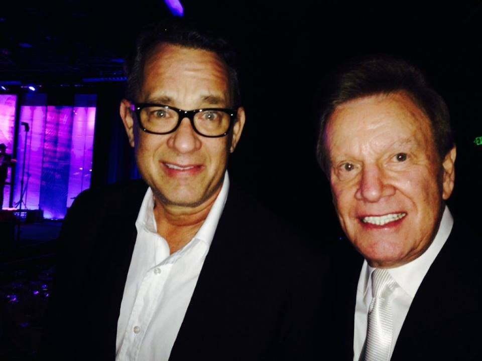 Wink Martindale and Tom Hanks