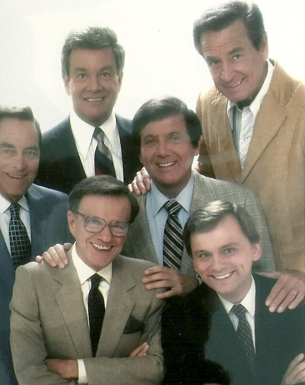 Game Show Hosts billCullen-montyHall-patSajak-jackBarry-winkMartindale-bobBarker