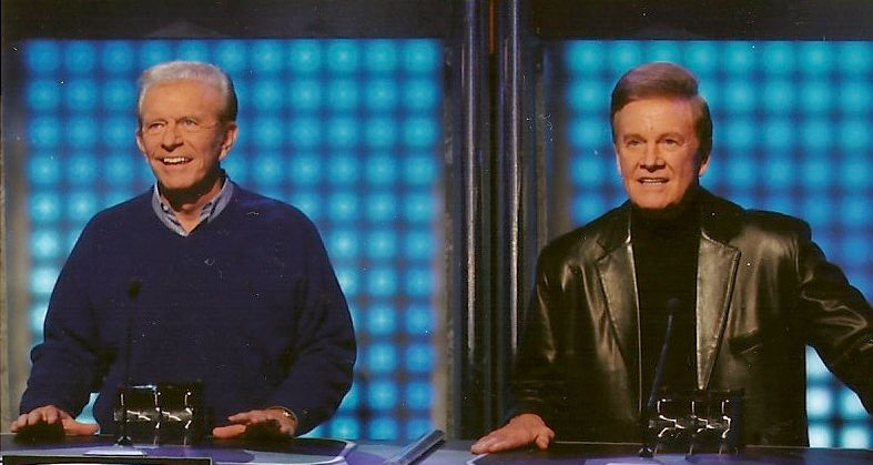 Bob Eubanks and Wink Martindale on Game Show