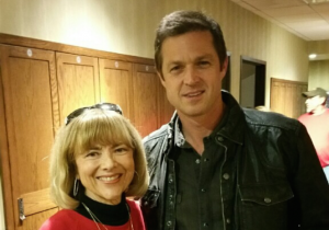 Sandy Martindale and Eric Close