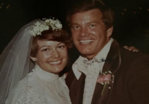 Wink and his Daughter Lisa at her Wedding