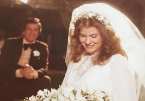 Wink and his Daughter Lyn at her Wedding