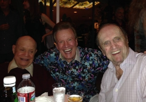 Wink Martindale and Bob Newhart and Don Rickles