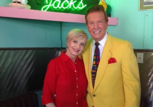 Wink and Florence Henderson
