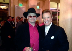 Wink and Mickey Dolenz of the Monkees