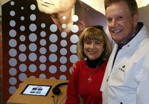 Wink and Sandy Martindale at Johnny Cash Museum