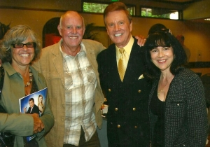 Wink and Sandy Martindale with Geoff Edwards and Wife