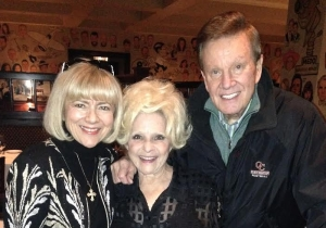 Wink and Sandy Martindale with Brenda Lee