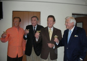 Wink Martindale and hosts