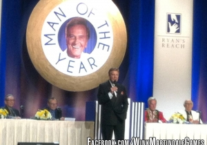 Wink Martindale at Pat Boones Man of the Year