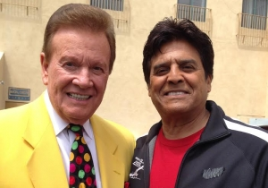 Wink Martindale and Eric Estrada
