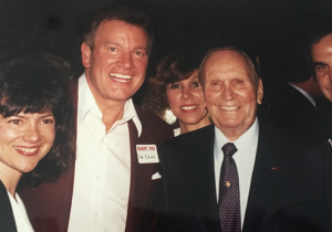 Wink and Sandy Martindale with Gene Autry