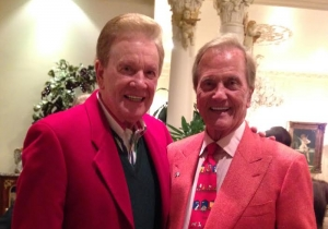 Wink Martindale and Pat Boone