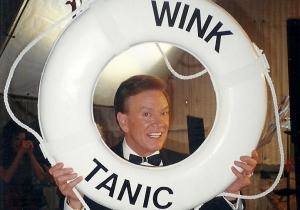 Wink Martindale on the Wink-Tanic