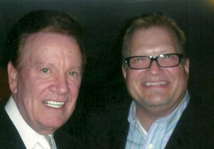 Wink Martindale and Drew Carrey