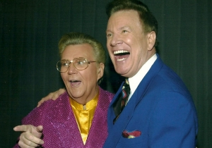 Wink Martindale with Rod Roddy