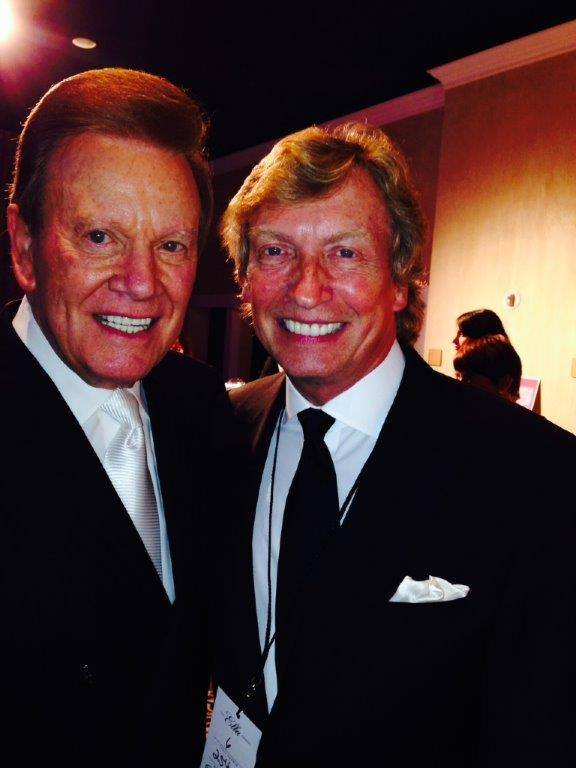 Wink and Nigel Lythgoe