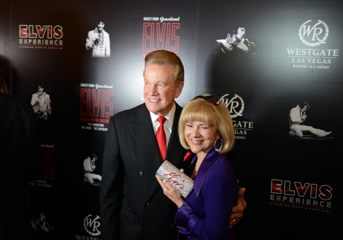 Wink and Sandy Martindale at Elvis Event