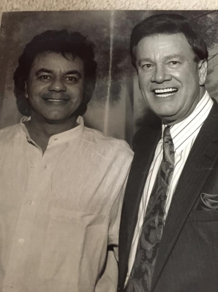 Wink and Johnny Mathis