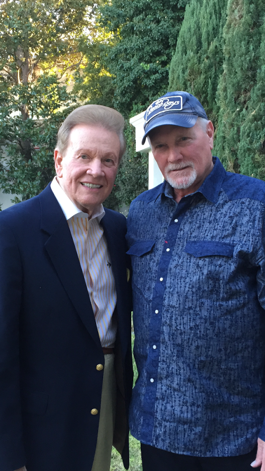 Wink Martindale and Mike Love