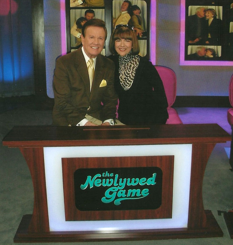 Wink and Sandy Martindale on The Newlywed Game
