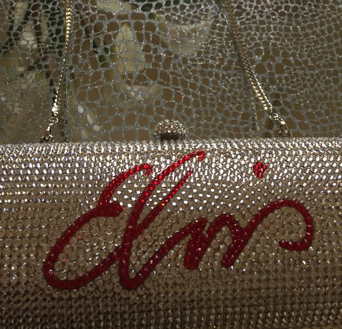 Elvis Crystal Purse by Sandy Martindale